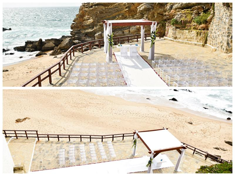 Portugal wedding by the sea, seafront wedding venue Portugal, Seaview wedding