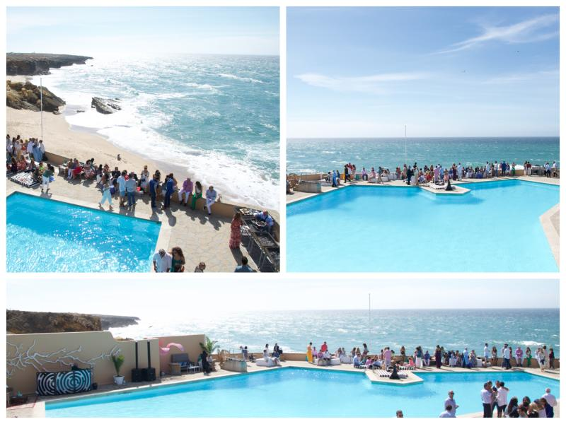 Pool party event at Arriba by the sea