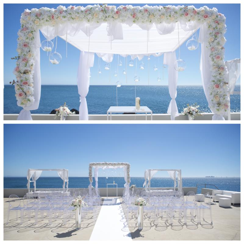 seaside wedding venue Portugal, sea front wedding venue Portugal,