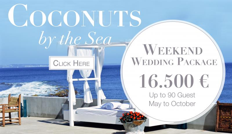 coconuts wedding package portugal