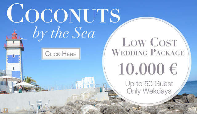 coconust by the sea wedding venue portugal