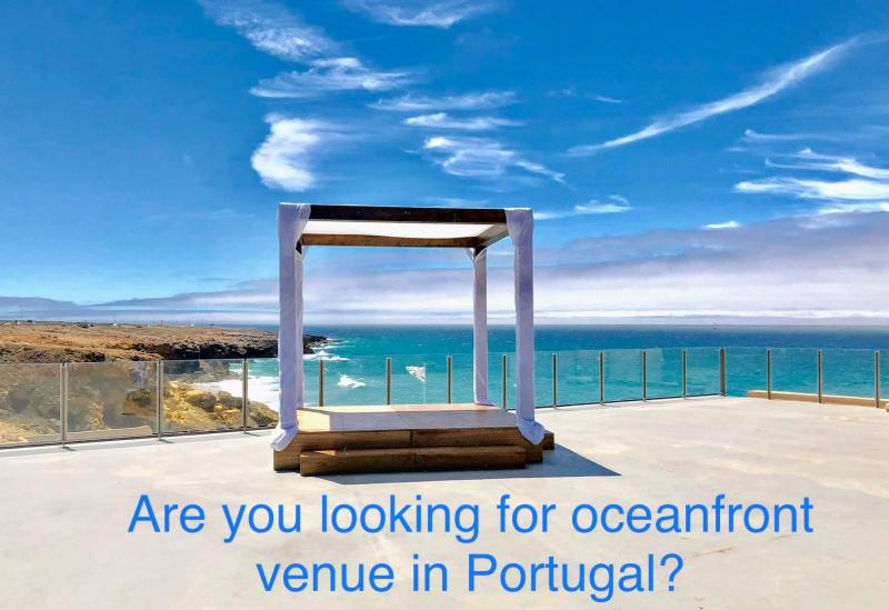 Looking for Oceanfront Wedding Venue Portugal - Book now at Arriba by the sea
