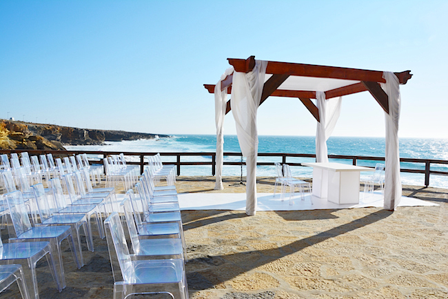 arriba by the sea wedding venue in portugal