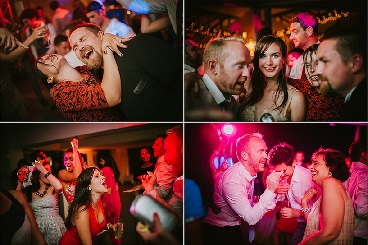arriba by the sea wedding in portugal disco