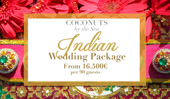 Ccocnuts by the sea indian wedding package portugal