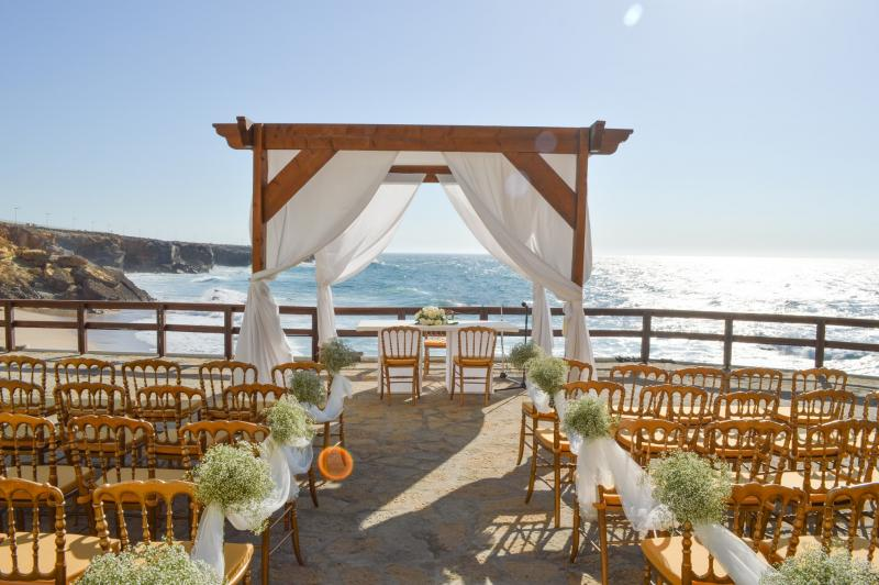 Wedding Ceremony Portugal, Arriba by the sea Portugal, Oceanfront venue portugal